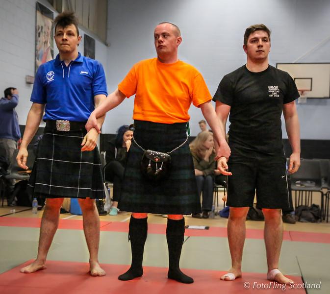 Scott Carson, Roddy Hayter & Greg Neilson