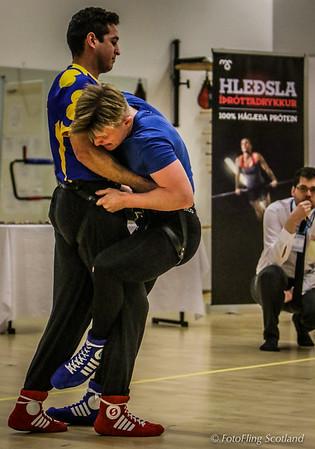Reykjavik International Games: Glima, Icelandic Wrestling