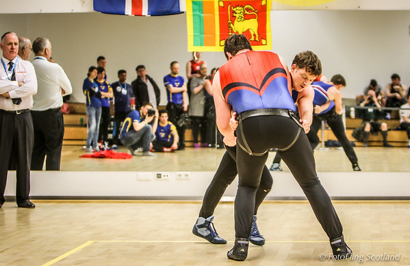 Reykjavik International Games: Glima, Icelandic Wrestling