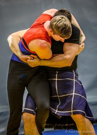 Scottish Backhold Wrestlers at Reykjavik International Games