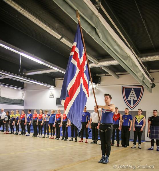 Pétur Eyþórsson, Icelandic Flag Bearer
