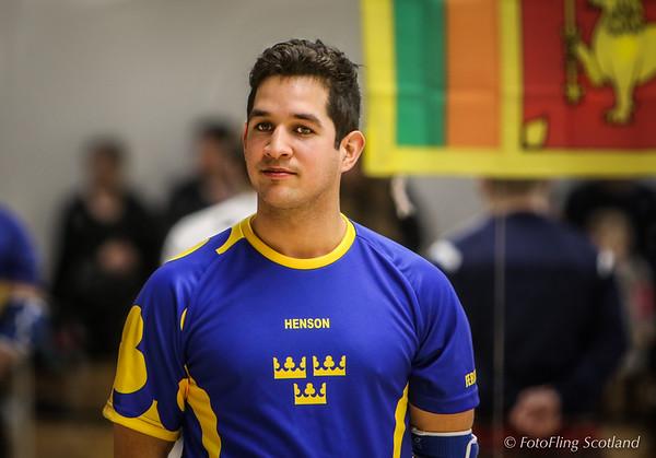 Glima Wrestler: Mauricio Ferrada (Sweden)