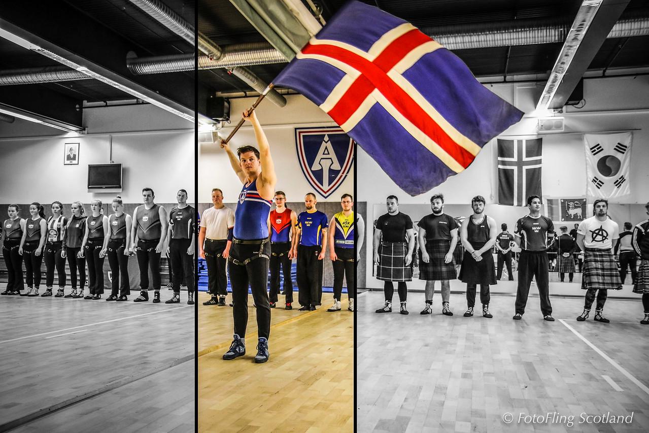 Reykjavik International Games 2016: Glima, Icelandic Wrestling