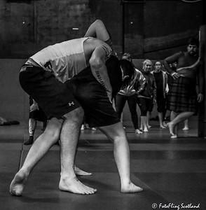 Backhold Wrestling in Reykjavik