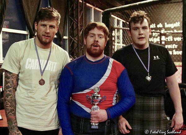 Backhold Wrestling Champion: Gunnar Gústav Logason. 2nd Ásmundur Hálfdán Ásmundsson  and 3rd Ryan Dolan