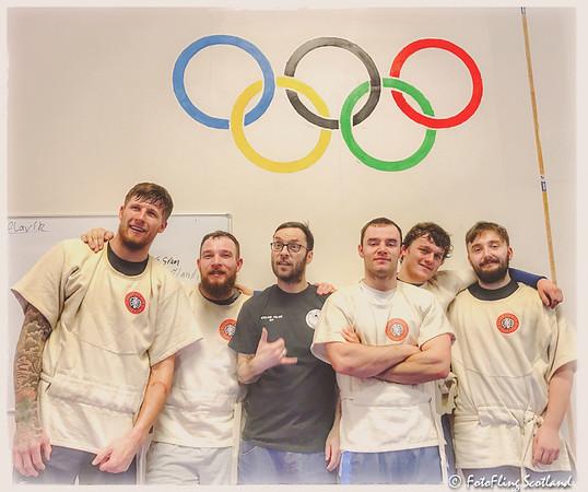 Scottish Wrestlers in Iceland
