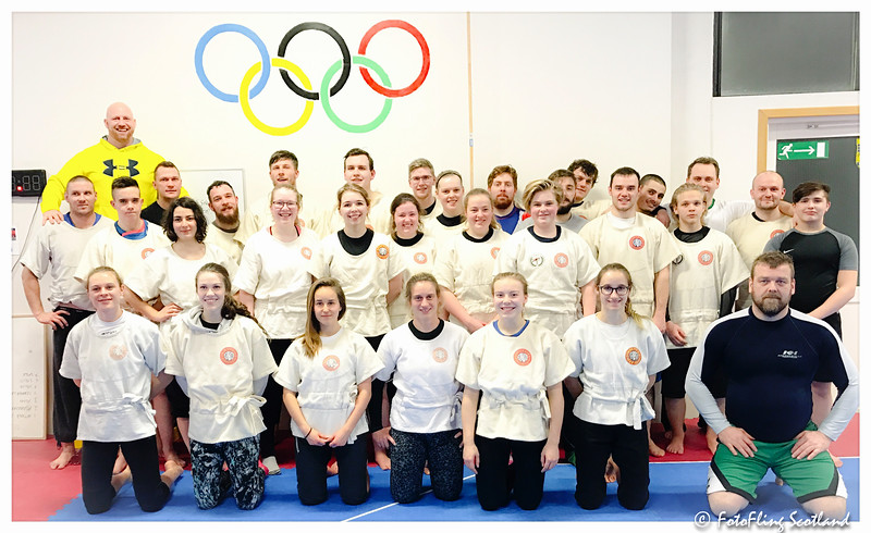Wrestlers in Iceland