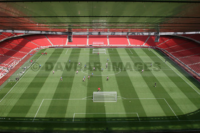 First-ever Arsenal training session at the Emirates Stadium (July 2006)