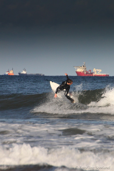 North Sea Surfing