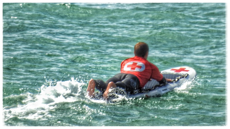 Red Cross Surfer