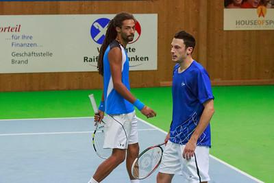 BROWN/MARX - ARNABOLDI/GREUL at ATP Eckental 2013: Philipp MARX, Dustin BROWN