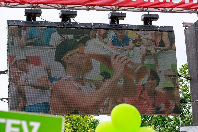 Triathlon Challenge Roth 2014: running finish