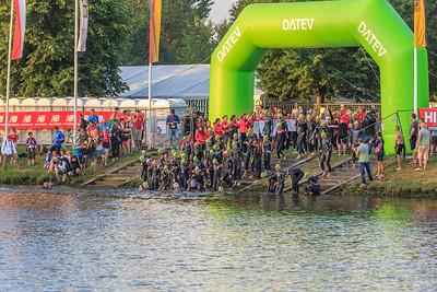 Triathlon Challenge Roth 2014: Start swimmng