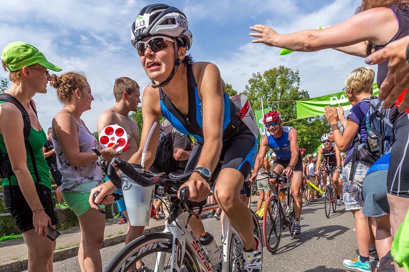 Triathlon Challenge Roth 2014: cycling