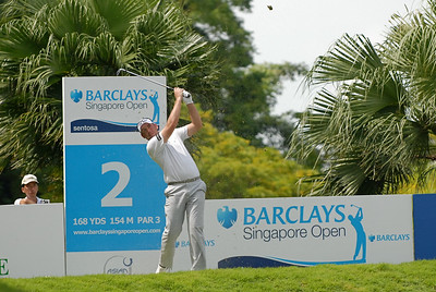 This is how Barclays Singapore Open gotten its icon  See his position and the 2 icons one top of him and on the side.