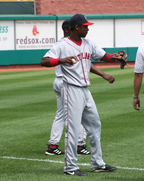 Shortstop Hanley Ramirez