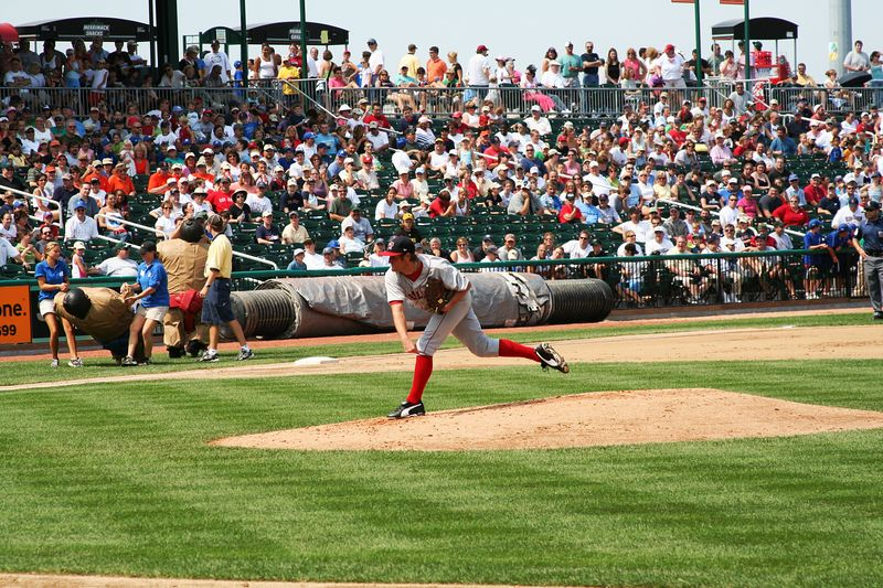 Sea Dogs right hander Chris Smith.