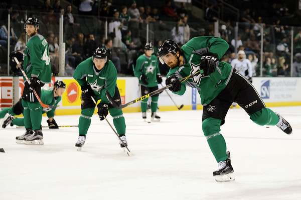 Dallas Stars White vs Green Scrimmage, September 25, 2016
