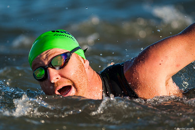 Ironman Louisville 2016 contestant no. 2013, Jeff Black, competing in the swimming portion of the race. Jeff is a 41 year old from Missouri who placed top 75 in all portions of the race within the 40-44 division and finished top 500 overall. The Ironman Louisville 2016 took place on 10-9-16 and is the 10th anniversary of the race occuring yearly in Louisville, Kentucky.