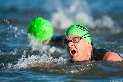 Ironman Louisville 2016 contestant no. 2755, Phil Kaiser, competing in the swimming portion of the race. Phil is a 54 year old from Kentucky who placed in the top 200 in all portions of the race within the 50-54 division. The Ironman Louisville 2016 took place on 10-9-16 and is the 10th anniversary of the race occuring yearly in Louisville, Kentucky.