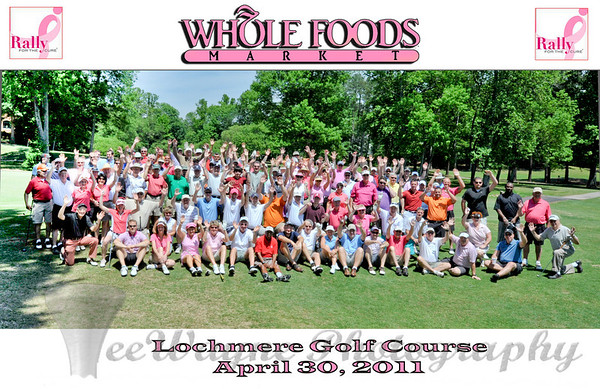 All hands on deck!!  What a great Rally For The Cure event at Lochmere Golf Course, sponsored by Whole Foods Market. Lochmere Rally For The Cure