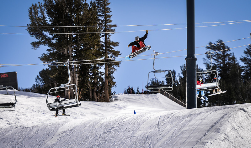 Main Snowpark Mammoth Mountain