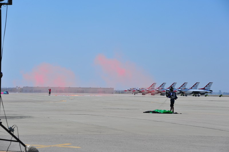 Air show at March Air Reserve Base