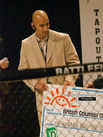 """<a href=""""http://www.HassanBehgoueiPhotography.com"""">http://www.HassanBehgoueiPhotography.com</a><br /> <br /> Gary Mangat defeats Chris Day by Split Decision<br /> <br /> Jacen Brooks defeats Matt Dwyer by Split Decision<br /> <br /> Adam Santos defeats Tristan King by TKO(GNP) in Round 1, 2:41<br /> <br /> Sean Zubor defeats Nick Austin by Split Decision<br /> <br /> Kalib Starnes defeats Nick Hinchliffe by Decision in Grappling bout of one 5 minute round<br /> <br /> Nick Marinos defeats Clay Ayres by TKO(Strikes) in Round 1, 2:45<br /> <br /> Justin Lansing submits Stefan Malyk by Armbar in Round 1, 1:05<br /> <br /> Marco Caffiero defeats Sony Sohota by TKO(Strikes) in Round 1, :20<br /> <br /> Kirk Tse submits Dean Northup by Rear Naked Choke in Round 2, 1:12<br /> <br /> Alfred Leslie submits Tony Huynh   by Rear Naked Choke in Round 1, 2:43<br /> <br /> Olesha Karringten defeats Nadine Spuls by TKO(Strikes) in Round 2, 0:24"""