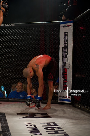 "<a href=""http://www.HassanBehgoueiPhotography.com"">http://www.HassanBehgoueiPhotography.com</a><br /> <br /> Main Event<br /> Micah Brakefield defeats Jer Kornelsen at 1:10 of the first round by tapout due to a triangle choke<br />  <br /> <br /> Co-Mainevent<br /> Leo Xavier defeats Marco Caffiero at 2:07 of the first round by tapout due to armbar<br /> Main Card<br /> Ryan Allen defeats Rory Bamber at 1:36 of the first round by ref stoppage due to strikes<br /> JP Beaudreault defeats Chris Hansen at 11 seconds of the first by KO<br /> Hitam Treadwell defeats Joey Nicholson at 19 seconds of the first round by TKO<br /> Curtis Harriot defeats Jordon Howes at 53 seconds of the second by tapout due to RNC<br /> Kirk Tse  defeats Morgan Littlechild at 2:10 of the first round by ref stoppage due to triangle  choke<br /> <br /> Preliminary Bouts<br /> Zach Koch defeats Ryan Moase at of the first round by Tapout due to RNC<br /> Berent Hagen defeats Rami Kadi at 56 seconds of the first round by ref stoppage due to TKO<br /> Amir  Razavi defeats Prince Mahey by unanimous decision"