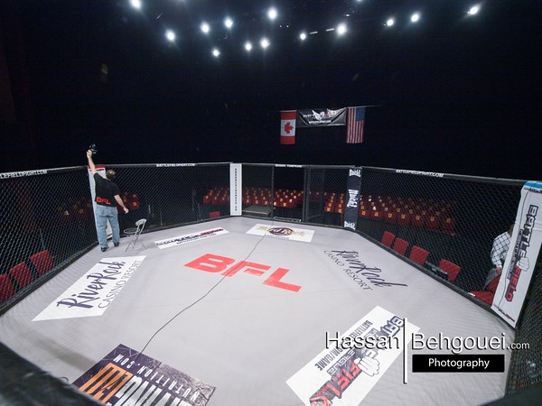 """<a href=""""http://www.HassanBehgoueiPhotography.com"""">http://www.HassanBehgoueiPhotography.com</a><br /> <br /> Mainevent<br /> Curtis Harriott defeats Bryce Gougeon by unanimous decision<br /> Co-Mainevent<br /> Alexi Argyriou defeats Achilles Estremadura by unanimous decision<br /> MainCard<br /> Robin Laybourn defeats Peter Merkley at 2:39 of the second round by ref stoppage due to North South choke<br /> Kiarash Moghadam defeats Herbert Moon at 1:29 of the first round by ref stoppage due to strikes (TKO)<br /> Tylor Nicholson defeats Mike Dechavez by unanimous decision<br /> Undercard<br /> Cole Smith defeats Reese Wood by unanimous decision<br /> Elyse Stevenson defeats Amanda Pack at of the 1:41 third round by tapout due to anaconda choke<br /> Daniel Richards defeats Omar Stefanini at 1:43 of the third by tapout due to RNC<br /> Ryan Leask defeats Mitch Burke at 2:14 of the second round by tapout due to an armbar<br /> Ali Wasuk defeats Taylor Christopher at 2:10 first round by submission due to standing guillotine<br /> Ian Finlayson defeats Chris Herron by split decision"""