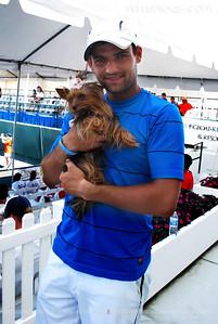 Vlademyros Mavropoulous-Stoliarenko (USA) & Angel Sarasota Open 2011