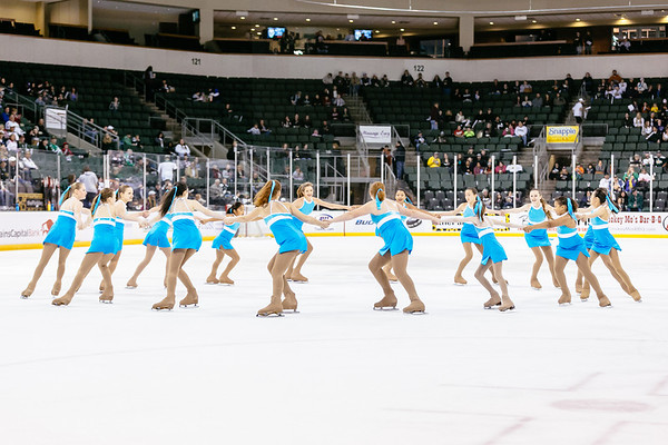 Texas Stars vs Charlotte Checkers at Cedar Park Center - March 8, 2014 - Stars win 3-0