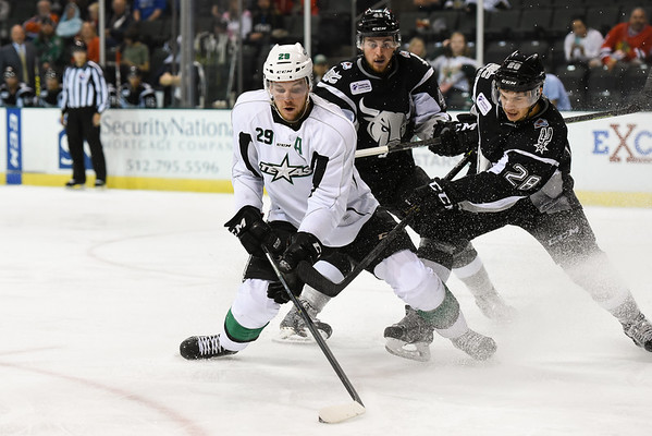 Texas Stars vs San Antonio Rampage - October 4, 2015