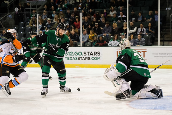 Texas Stars vs San Diego Gulls, December 31, 2016