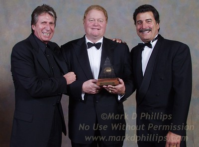David Brenner, Rusty Staub and Keith Hernandez at AAIUH's Sportsball 2002 at the Waldorf Astoria.