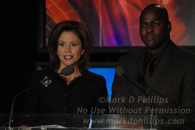Dana Tyler and Otis Livingston host Sportsball 2005.