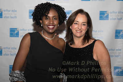 Sportsball 2017 of the Arthur Ashe Institute held at the Grand Hyatt in New York City; AAIUH's Marilyn Fraser
