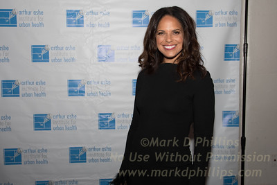 Sportsball 2017 of the Arthur Ashe Institute held at the Grand Hyatt in New York City; Honoree Soledad O' Brien