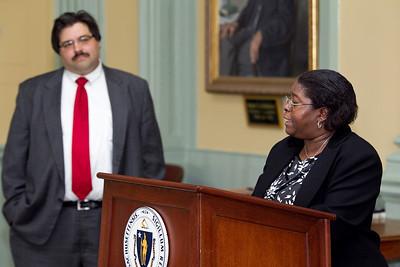 April 16, 2010. Boston, MA. 20th Commonwealth Seminar Graduation with keynote speaker Steve Grossman.