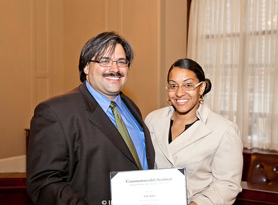 May 4, 2012. Boston, MA. The Commonwealth Seminar Graduation at the Massachusetts State House. © 2012 Marilyn Humphries