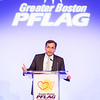 April 27, 2017. Boston, MA.<br /> Greater Boston PFLAG's Pride and Passion Benefit and Auction.Josh Kraft received the Cornerstone of Equality Award.<br /> © 2017 Marilyn Humphries