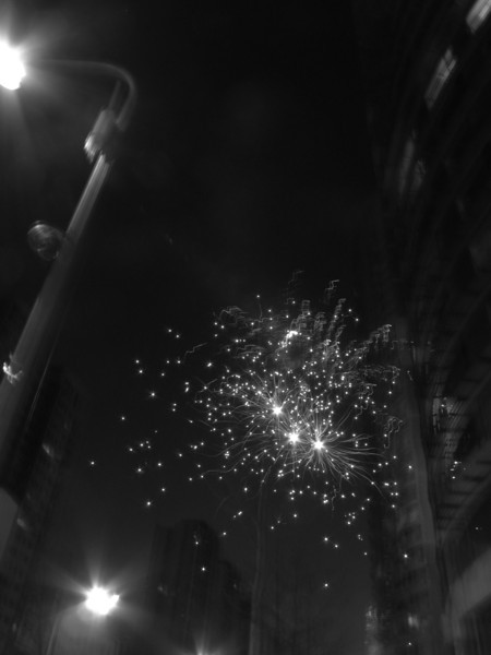 Firework in Chaoyang