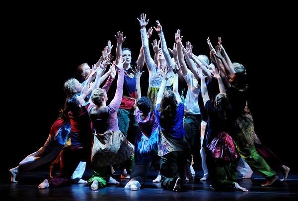 Don Knight   The Herald Bulletin<br /> Spring Into Dance 11 at Reardon Auditorium on Saturday.