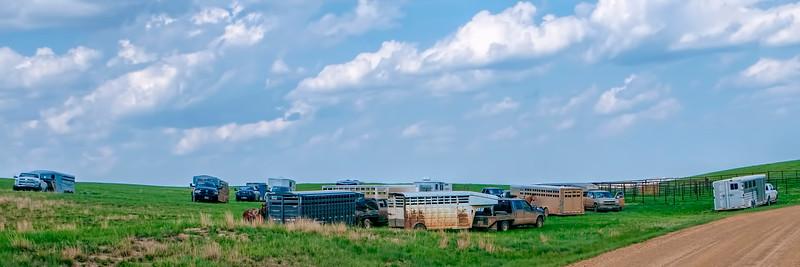 roundup Pasture parking lot