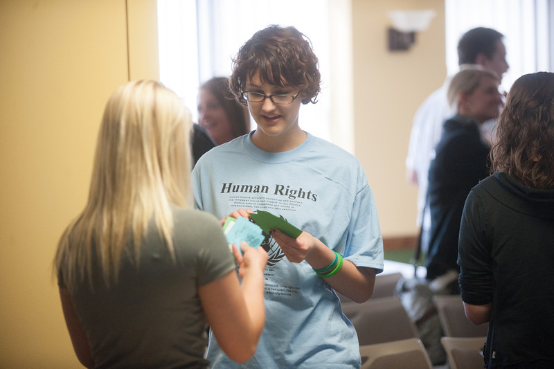 The 11th Annual Terre Haute Human Rights Day, held in HMSU