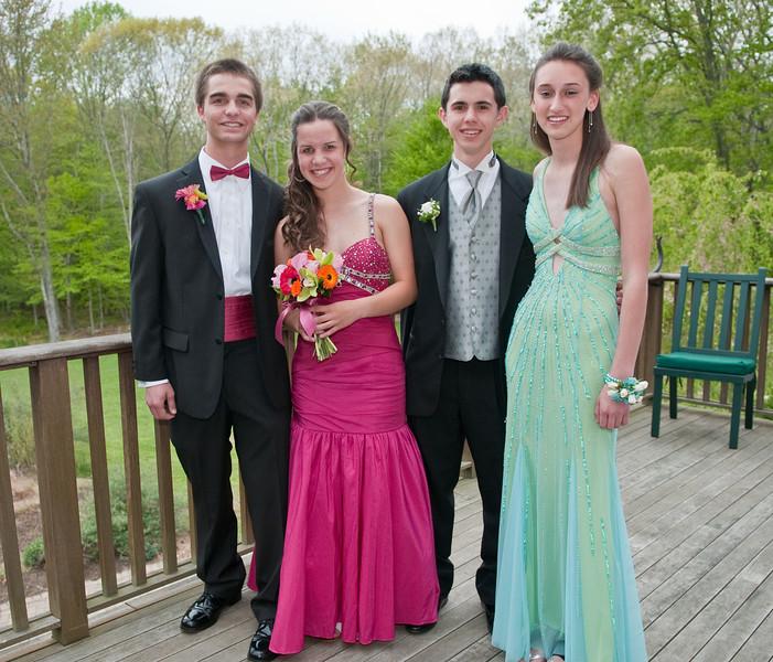 Rob, Allison, Charlie, and Rebecca