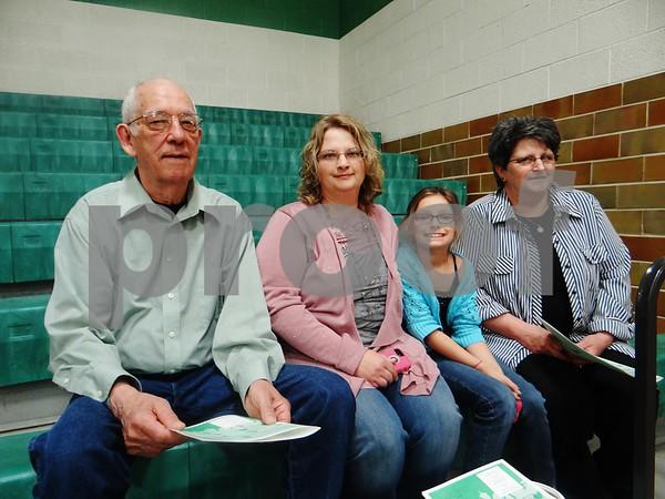 Orville Slotten, Jennifer Slotten, Morgan Bockoven, and Nancy Slotten.