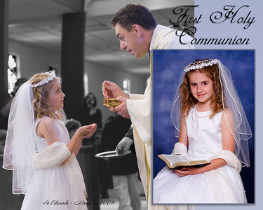 This is not a standard image, I created it to show you yet another option; the background of the Communion in black and white while the rest is colorized.  I can do this upon request.