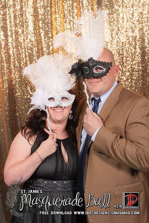 2016 Masquerade Ball - St. James 4-2-16