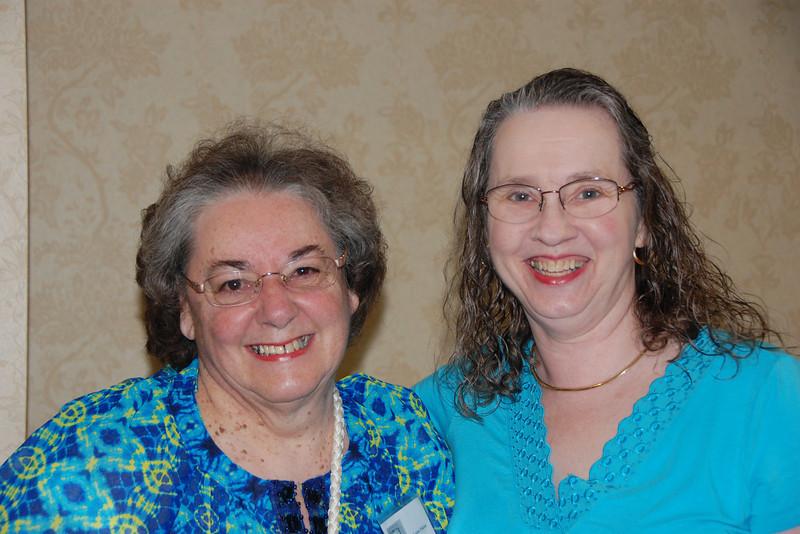 Louise  Poirier & Denise Constantineau